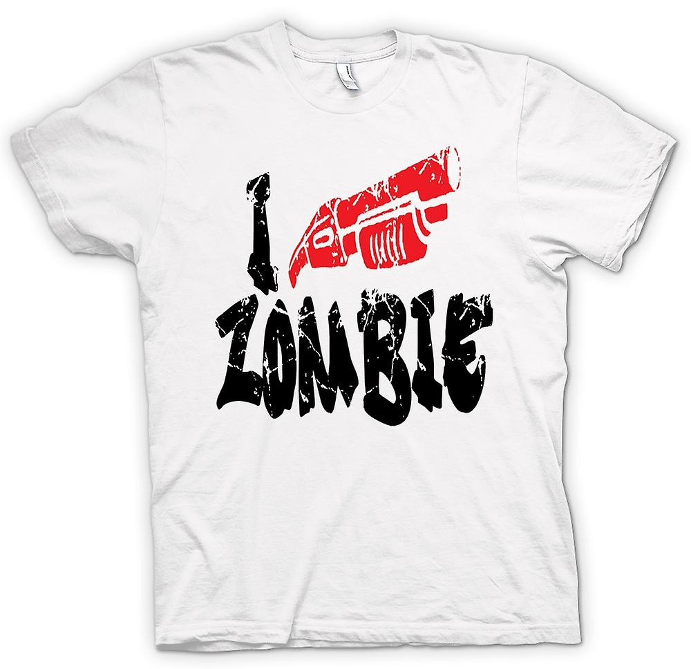 Womens T-shirt - I Shoot Zombies - Funny