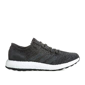 Adidas performance Mens Pure Boost exécutant formateurs en noir