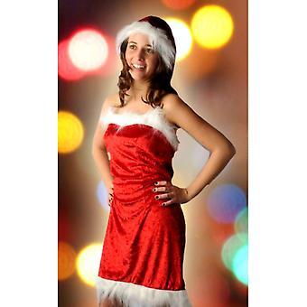 Las mujeres trajes de niña de Santa sexy