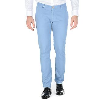 Hugo Boss Mens Pants Light Blue Rice