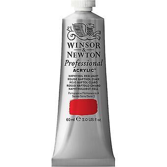 Winsor & Newton professionella akryl 60ml - 421 naftol rött ljus (S2)
