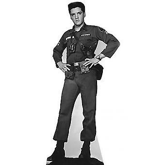 Elvis GI Blues Cardboard Cutout