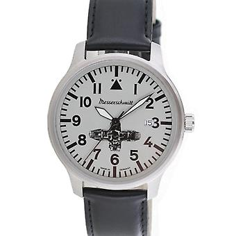 Aristo Messerschmitt men's Boxer watch ME BOXER1 leather