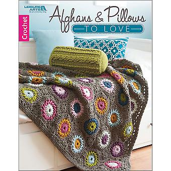 Leisure Arts-Afghans And Pillows To Love