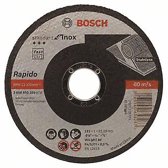 Bosch 2608603169 115 X 1 X 22.23Mm Standard Inox Metal Cutting Disc