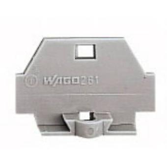 WAGO 260-361 Screwless Single Terminal Grey