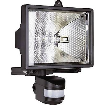 Outdoor floodlight (+ motion detector) HV halogen 500 W EEC: C (A++ - E) R7s ES42 Black