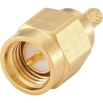 SMA connector Plug, straight 50 Ω Rosenberger 32S107-302L5 1 pc(s)