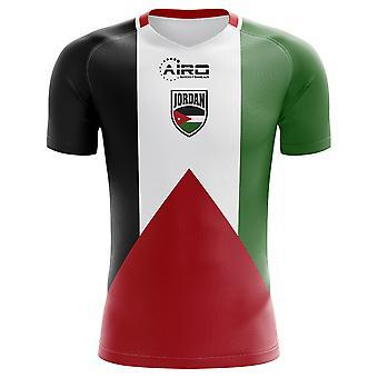 2018-2019 الأردن مفهوم الوطن القميص لكرة القدم