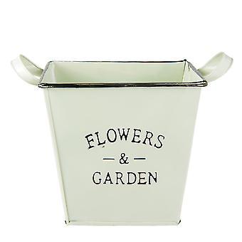 Clayre & EEF flower pot plantageejer jern vintage stuehus køkken 27 x 19 x 19 cm