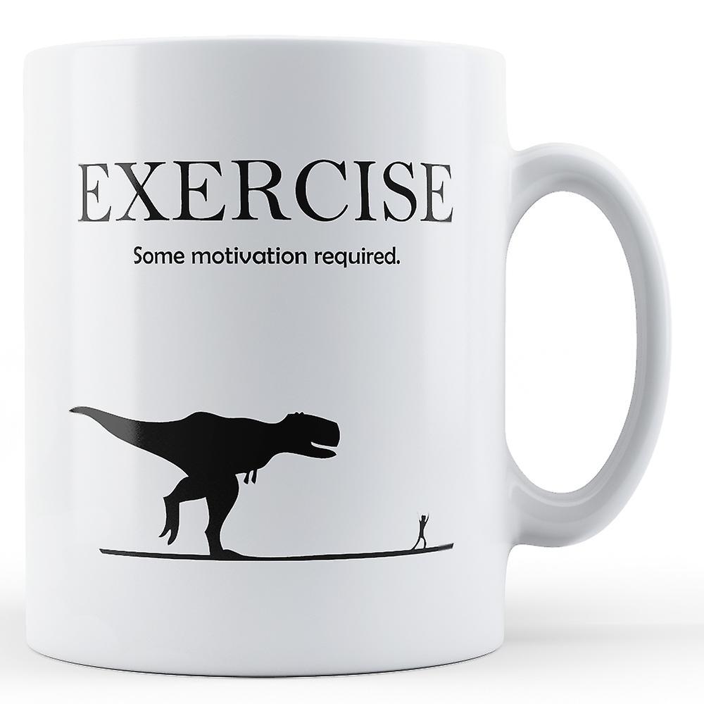 Mug NécessaireImprimé Exercice Quelque Motivation Décoratif lcF1TKJ