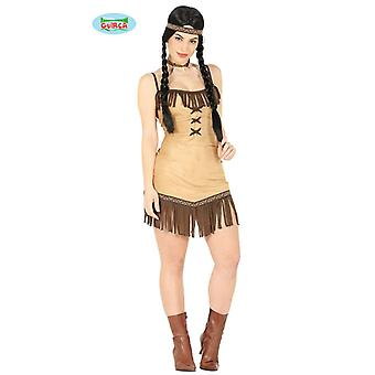 Indian Squaw costume for ladies Western Indian costume