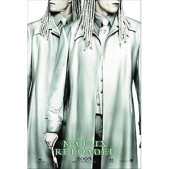 Matrix - Reloaded Poster  Twins