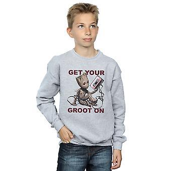 Marvel gutter voktere av galaksen få din Groot på Sweatshirt