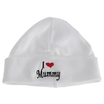 Baby Boys/Girls I Heart Mummy Hat