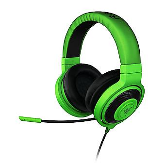 Razer Kraken Pro 2015 Pc Gaming Headset - Green Headphones & Microphone (ps4 & Console Compatible) With L33t Bundle