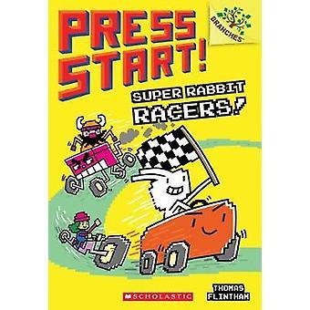 Super Rabbit Racers! -En grenar bok (tryck Start! #3) av Thomas Fli