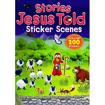 Verhalen Jezus vertelde Sticker scènes door Juliet David - 9781859859476 boek
