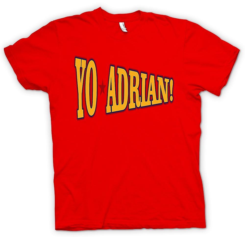 Mens T-shirt-Rocky Balboa Yo Adrian - lustig