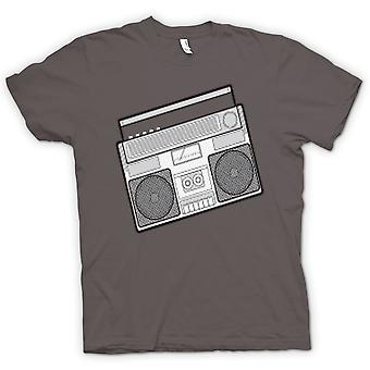 Kids T-shirt - Ghetto Blaster Design Drawing