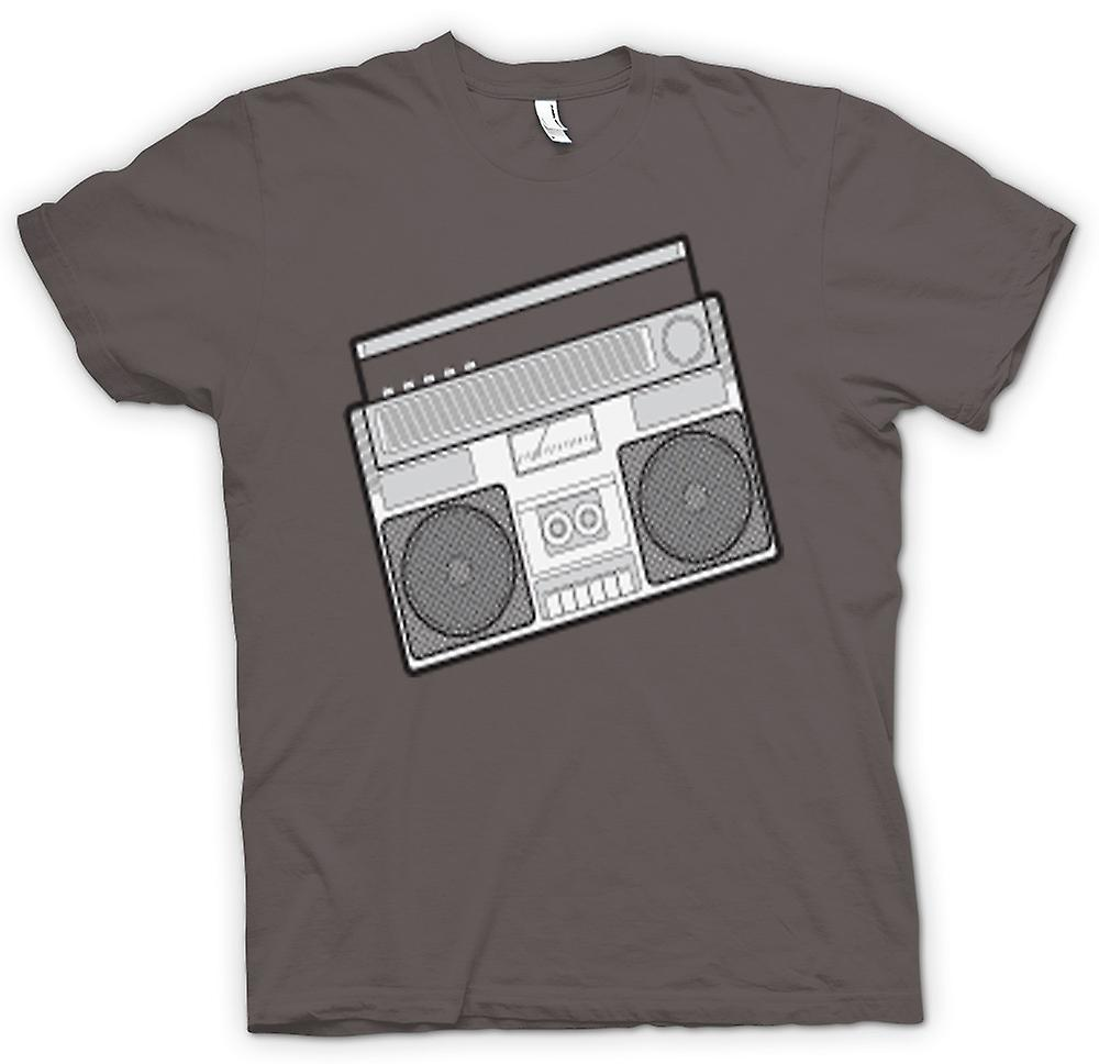 T-shirt Femmes - Ghetto Blaster Design Dessin
