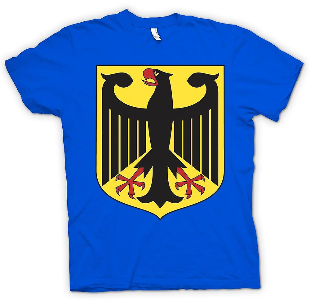 Mens T-shirt - German Coat Of Arms - Federal Eagle