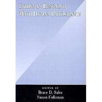 Ethiek in onderzoek met menselijke deelnemers door Bruce Dennis verkoop - Su