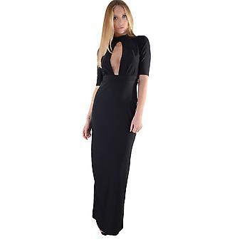 Lovemystyle robe Maxi moulante avec détails de pointe-A-Boo et Split