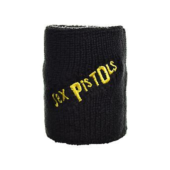 Sex Pistols Logo Embroidered Wrist Sweatband