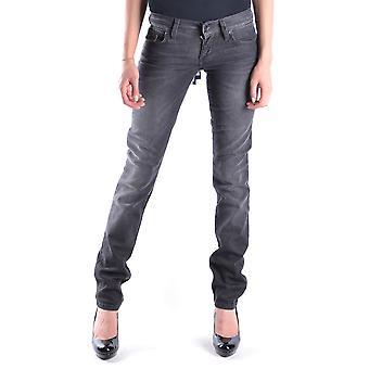 Liu Jo Grey Cotton Jeans