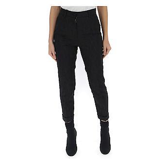 Dolce E Gabbana Black Cotton Pants