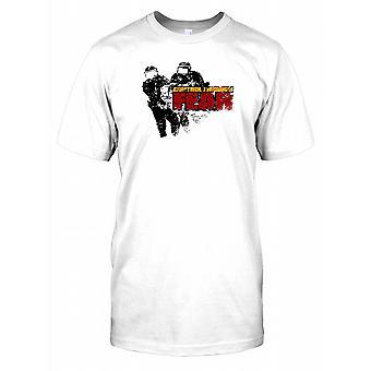 Control Through Fear Mens T Shirt