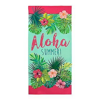Alfresco Printed Beach Towel, Aloha