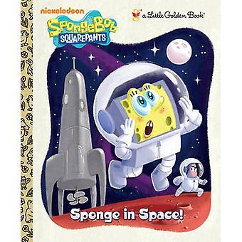 Sponge in Space! (Spongebob Squarepants) by Golden Books - Geof Smith