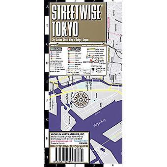 Streetwise Tokyo Map - Laminated City Center Street Map of Tokyo - Ja