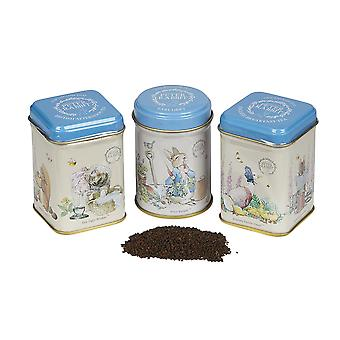 Nuovi tè inglesi beatrix potter mini tea tin pacchetto regalo