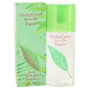 Elizabeth Arden Green Tea Tropical Eau de Toilette 100ml EDT Spray