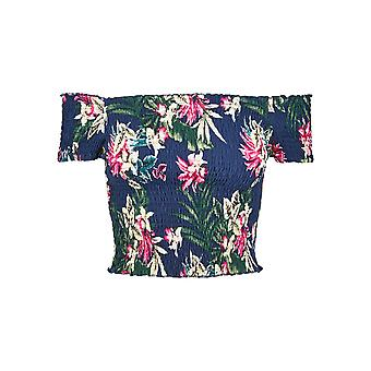 Urban Classics mulheres T-shirt AOP fumaça