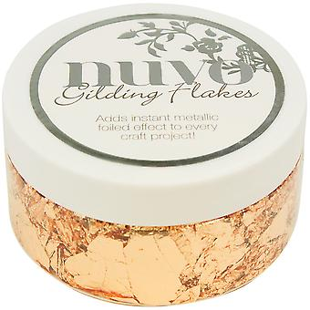Nuvo Gilding Flakes-Sunkissed Copper NGF852