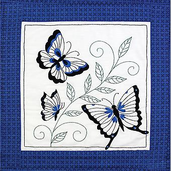 Butterfly Quilt Blocks Stamped Embroidery 15