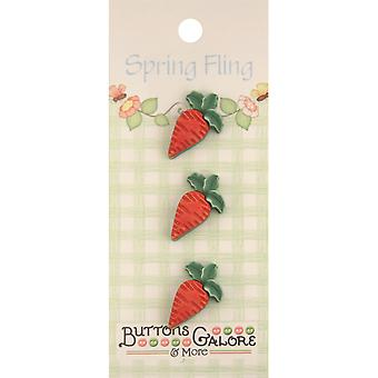 Spring Buttons Carrots Sf 125