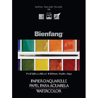Bienfang Watercolor Paper Pad 9