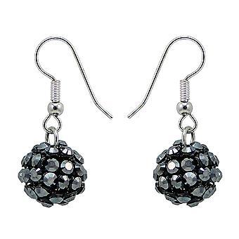 Crystal Mesh Ball Earrings EMB112.9