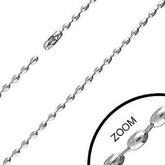 Urban Male Modern Stainless Steel Chain 2.4mm Wide & 20in Long