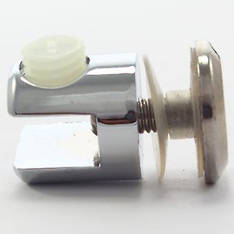 6mm til 8mm svævende hylde klemme støtte klip beslag - zink krom - justerbar