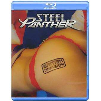 Stål Panther - britiske Invasion [BLU-RAY] USA import