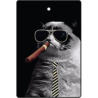 Smoking Fat Cat Car Air Freshener