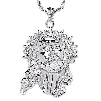 ICED OUT bling chain - FRESH BIG JESUS
