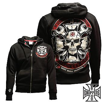 West Coast choppers Zip Hoody mechanic