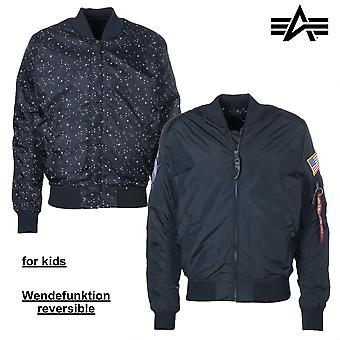 Chaqueta Alpha industries MA-1 TT NASA niños
